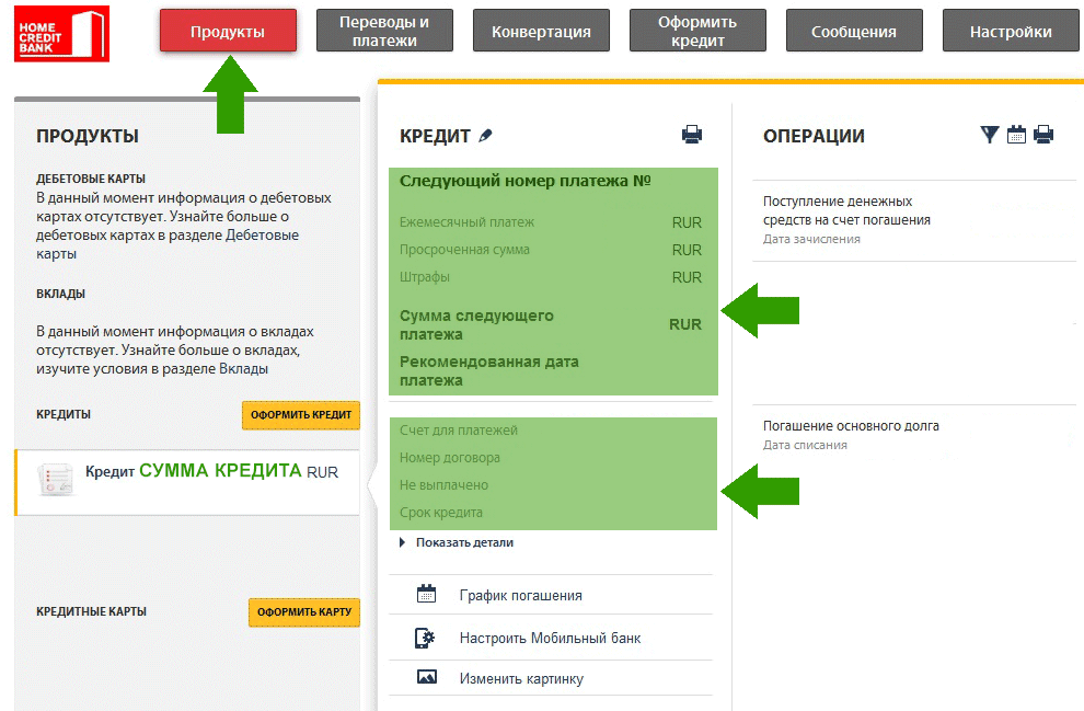 Хоум-кредит официальный сайт вклады